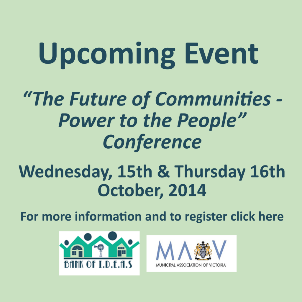 Future Communities widget