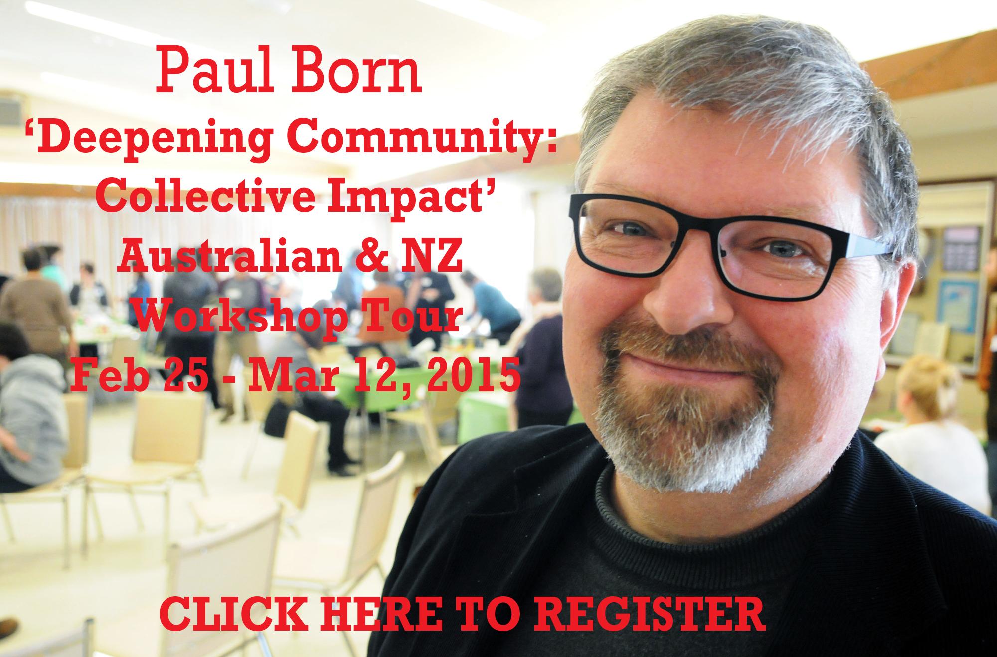 Paul Born Workshop Registration